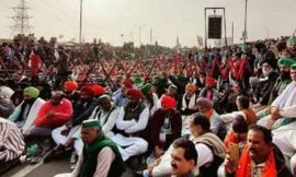 गाजीपुर बार्डर पर भारतीय किसान यूनियन ने बुलाई महापंचायत, भारी पुलिस फोर्स तैनात