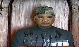 राष्ट्रपति रामनाथ कोविंद के अभिभाषण से बजट सत्र शुरू, बोले 26 जनवरी की घटना बेहद दुर्भाग्यपूर्ण, किसानों के हित में है कानून