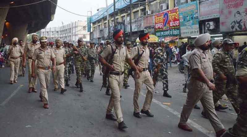 लुधियाना में पुलिस ने बढ़ाई भाजपा कार्यालय की सुरक्षा, भाजपा शहर में निकाल रही है तिरंगा मार्च, शिअद ने किया विरोध का ऐलान