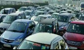 दिल्ली में लगा भयंकर जाम, कई सड़कों सहित मेट्रो स्टेशन बंद, टिकरी बॉर्डर मेट्रो स्टेशन के प्रवेश और निकास द्वार भी बंद