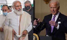 प्रधानमंत्री नरेन्द्र मोदी ने की अमरीकी राष्ट्रपति जो बाईडेन से फोन पर बात, इस मुद्दे पर हुई चर्चा