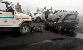 फगवाड़ा-गोराया हाईवे पर आपस में टकराई गाड़ियां, 6 लोग गंभीर रूप से घायल