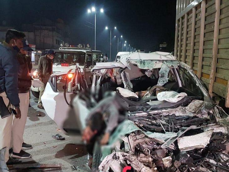 इंदौर में पार्टी करके लौट रहे 6 दोस्तों की भीषण सड़क हादसे में मौत