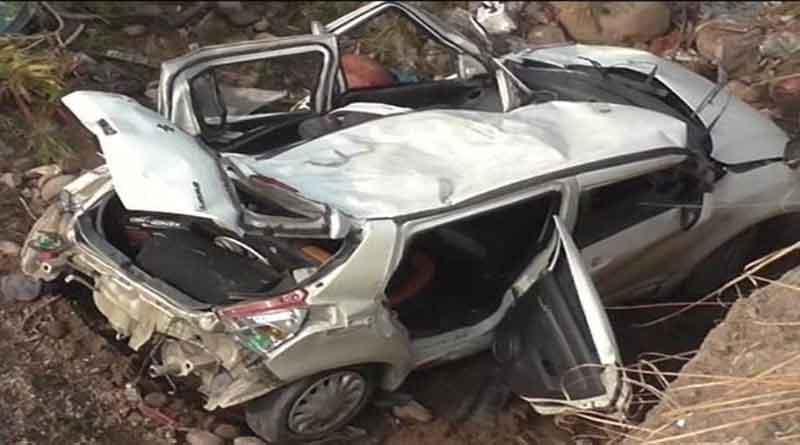 फिरोजपुर में भयानक हादसा, कार पेड़ से टकराने से सेना के जवान सहित 2 लोगों की मौत