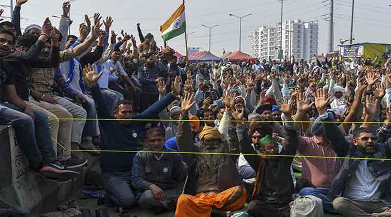 यूपी और उत्तराखंड को छोड़कर पूरे देश में 3 घंटे का चक्का जाम, पुलिस चौकस