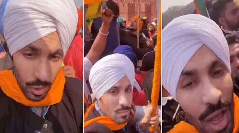 दिल्ली पुलिस ने रखा अभिनेता दीप सिद्धू पर एक लाख का इनाम, हिंसा के बाद से है गायब
