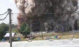 गुजरात के भरूच में केमिकल फैक्टरी में भीषण ब्लास्ट के बाद लगी आग, 24 लोग घायल