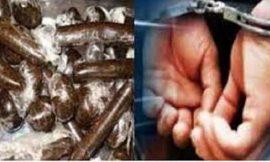 पठानकोट में पुलिस ने किया 1 किलो चरस के साथ तस्कर गिरफ्तार