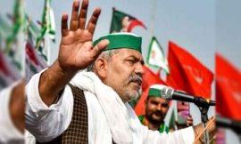 चक्का जाम के दौरान किसान नेता राकेश टिकैत का ऐलान, अगर कोई भी अप्रिय घटना हुई तो दंड दिया जाएगा
