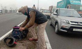 जालंधर के पठानकोट चौक पर अज्ञात वाहन की टक्कर से युवक की मौत
