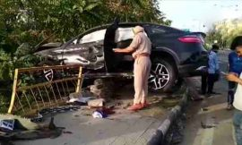 मोहाली में तीन लोगों को रौंदने वाला 18 साल का मर्सिडीज ड्राईवर गिरफ्तार, शनिवार को आर्टिगा और मर्सिडीज में हुई थी टक्कर