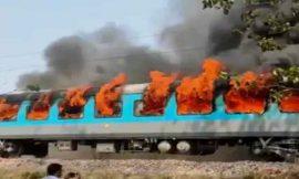 नई दिल्ली से देहरादून जा रही शताब्दी एक्सप्रेस के डिब्बे में लगी आग, सभी को सुरक्षित निकाला गया