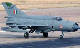 एयरफोर्स का मिग -21 बाइसन विमान दुर्घटनाग्रस्त, ग्रुप कैप्टन की मौत