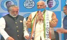 बंगाल में भाजपा को लगा तगड़ा झटका, भाजपा के पूर्व केंद्रीय मंत्री यशवंत सिन्हा ममता की तृणमूल कांग्रेस में शामिल