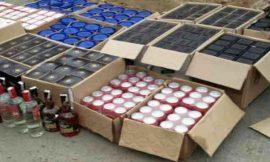 50 पेटी अवैध शराब सहित कैंट पुलिस के हत्थे चढ़ा शराब तस्कर