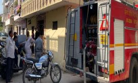 केएमवी कालेज के पास इमारत में लगी आग, मौके पर पहुंची दमकल विभाग की कई गाड़ियां
