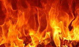 जालंधर रेलवे स्टेशन के पास ढाबे को लगी आग, मौके पर पहुंची फायर ब्रिगेड की गाड़ियां