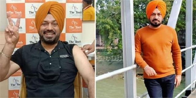 पंजाबी अदाकार गुरप्रीत सिंह घुग्गी ने लगवाई कोरोना वैक्सीन, सोशल मीडिया पर शेयर की तस्वीर