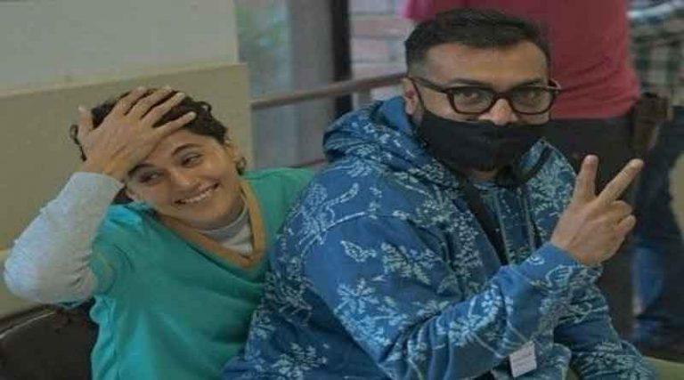 एक्ट्रेस तापसी पन्नू और डायरेक्टर अनुराग कश्यप के घर आयकर विभाग के छापे