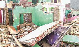 लद्देवाली में मकान तोड़ते लेंटर गिरा, एक मजदूर की दबकर हुई मौत