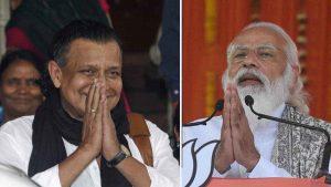 Mithun Chakraborty joins BJP at PM's rally, hoists party's flag on Modi's platform