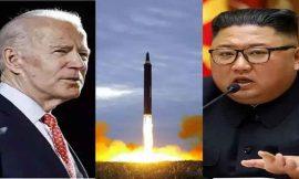 अमेरिका की नई बाइडेन सरकार पर दबाव बनाने के लिए उत्तर कोरिया ने किया 2 बैलिस्टिक मिसाइलों का परीक्षण