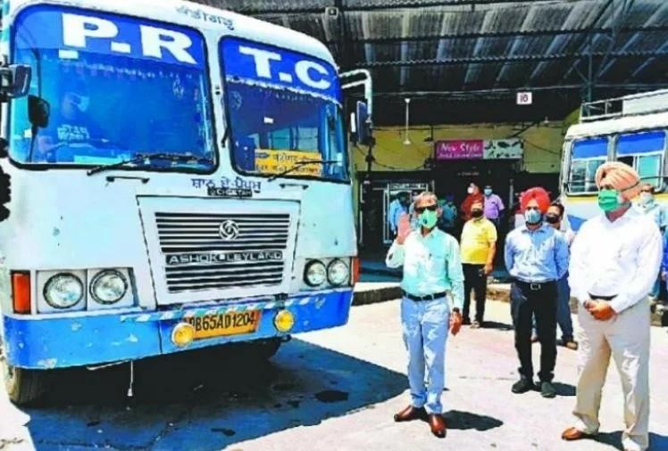 पंजाब में पीआरटीसी बसों का किराया बढ़ाने की तैयारी
