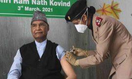 राष्ट्रपति रामनाथ कोविंद ने लगवाया टीका, सेना के अस्पताल जाकर ली वैक्सीन