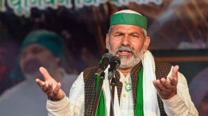 Rakesh Tikait, who spoke on the peasant movement, said- the movement will continue till the agricultural laws are withdrawn