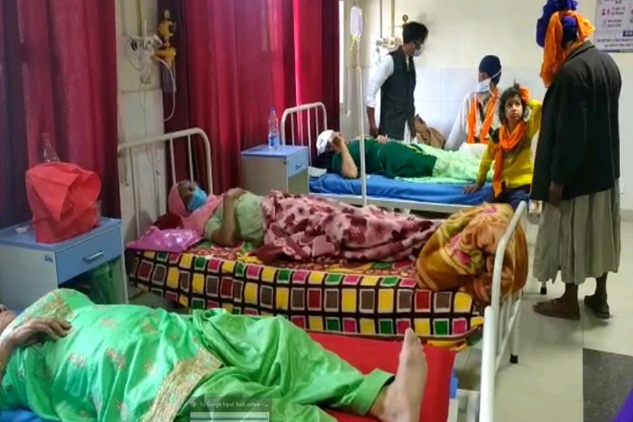 सुल्तानपुर लोधीः होला मोहल्ला देखने जा रहे श्रद्धालुओं की गाड़ी पलटी, कईं जख्मी
