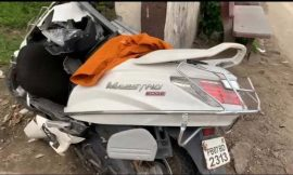 टांडा के पास डीएसपी गुरदासपुर की गाड़ी व एक्टिवा में टक्कर, देवरानी-जेठानी की मौत, 4 माह की बच्ची गंभीर
