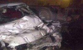 लुधियाना-जालंधर नेशनल हाईवे पर कार व ट्रक में भीषण हादसा, तीन दोस्तों की मौत