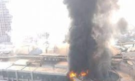 मुबंईः मॉल में चल रहे कोविड अस्पताल में आग लगने से 9 लोगों की मौत, 70 मरीजों को बचाया