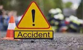 भयानक सड़क हादसे में एक ही परिवार के चार लोगों की मौत