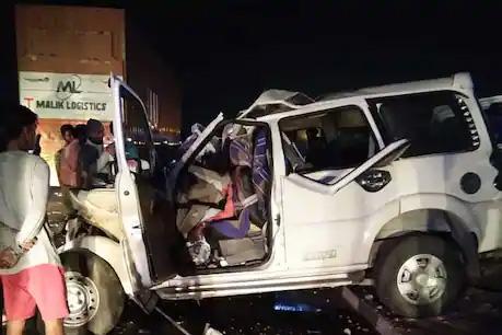 आगरा में भीषण सड़क हादसा, ट्रक और स्कॉर्पियो की टक्कर में 9 लोगों की मौत, 3 घायल