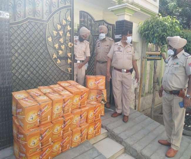 जालंधर पुलिस की बड़ी कार्रवाई, न्यू शीतल नगर में एक घर से तैजाब की 14 पेटियां बरामद