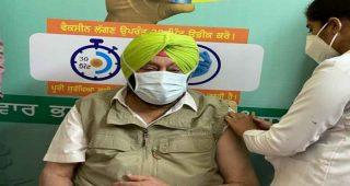 मुख्यमंत्री कैप्टन अमरिंदर सिंह ने लगवाई कोरोना वैक्सीन की दूसरी डोज, लोगों से की ये अपील… पढे़ पूरी खबर
