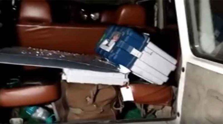 असम में भाजपा प्रत्याशी की गाड़ी से मिली ईवीएम मशीनें, इलेक्शन कमिशन ने किया 4 अफसरों को सस्पेंड