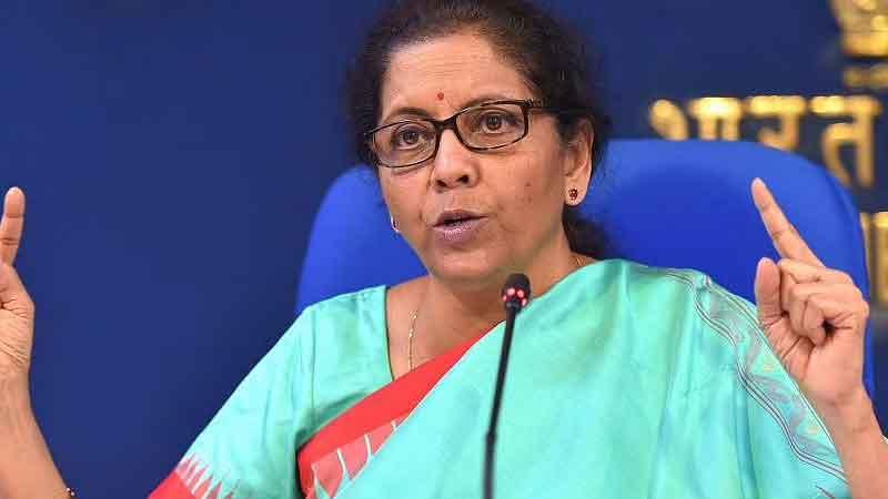 वित्त मंत्री निर्मला सीतारमण बोलीं, सरकार लोगों की जान, आजीविका बचाने के लिए काम कर रही है