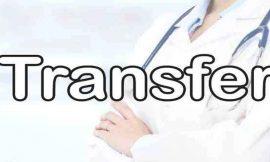 स्वास्थ्य विभाग में भारी फेरबदल, 11 सीनियर मेडिकल अफसरों का हुआ तबादला, डा. अरूण वर्मा डीएचओ जालंधर नियुक्त