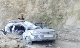 शिमला में हुआ दर्दनाक हादसा, चलती कार पर पहाड़ी से गिरे पत्थर, दो चचेरे भाईयों की मौत