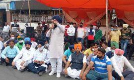जालंधर में अकालियों ने किया कांग्रेस के खिलाफ अर्थी फूक प्रदर्शन, जमकर की नारेबाजी
