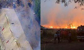 ट्राइडेंट के बुधनी प्लांट में पिछले 30 घंटों से लगी भयानक आग, 100 करोड़ का हो चुका है नुकसान
