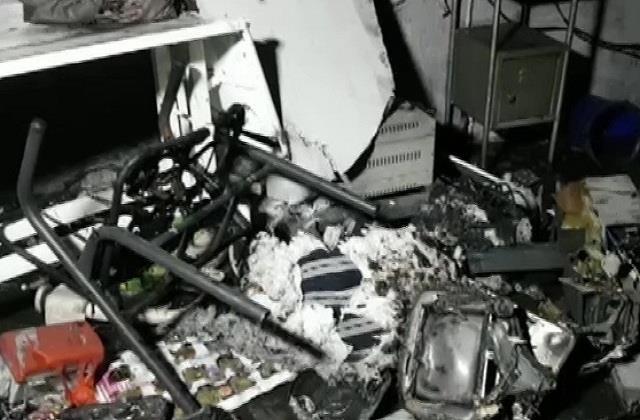 गुजरात के भरूच में दर्दनाक हादसा, कोविड-19 अस्पताल में आग लगने से 18 की मौत