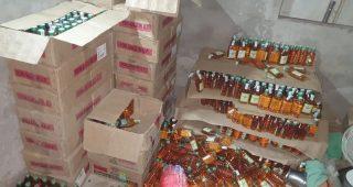 पटियाला में नकली शराब बनाने वाली फैक्टरी का भांडाफोड़, 3 आरोपी गिरफ्तार 2 फरार