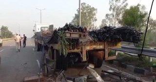 खन्ना जीटी रोड पर हुआ भयानक सड़क हादसा, 2 लोगों की मौत