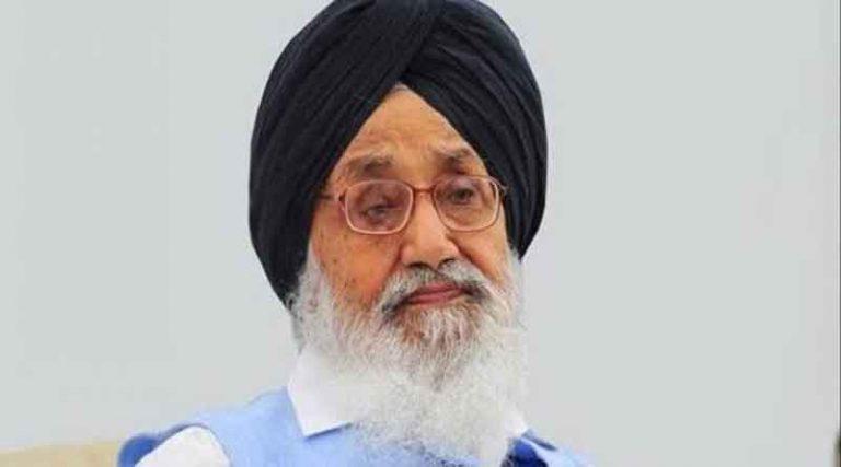 कोटकपूरा गोलीकांडः पूर्व मुख्यमंत्री प्रकाश सिंह बादल से पूछताछ करने चंडीगढ़ आवास पर पहुंची एसआइटी