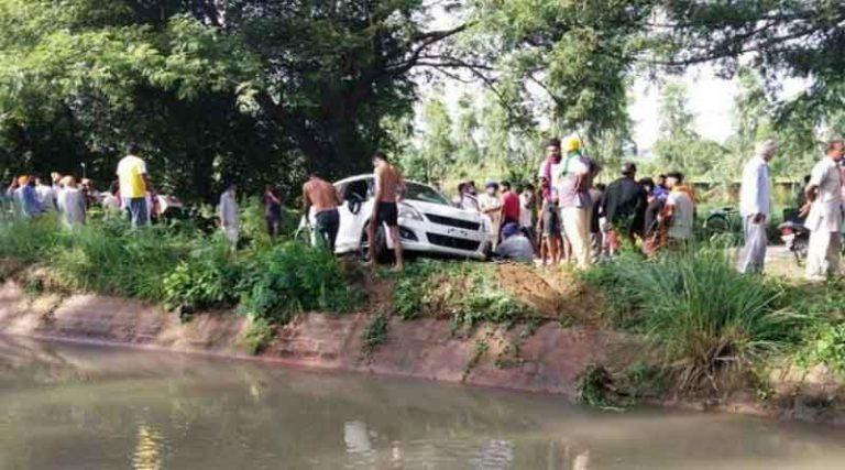होशियारपुर में दर्दनाक हादसा, नहर में गिरी दो कारें, दुबई से लौटे युवक सहित 2 लोगों की मौत, एक बाल-बाल बचा