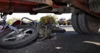 जालंधर में दर्दनाक सड़क हादसाः ट्रक ने बाइक सवार को रौंदा, मौके पर मौत