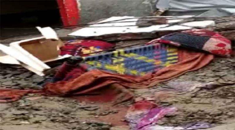 पातड़ा में छत गिरने से एक परिवार के 4 लोगों की मौत, बारिश के चलते हुआ हादसा